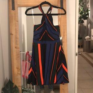 *NEW* striped halter dress